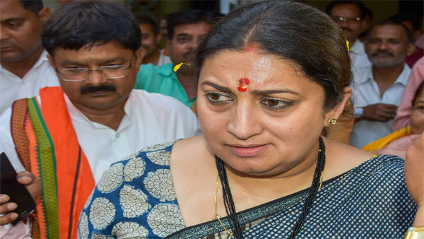 Over 3 lakh votes I got in Amethi in 2014 told me people needed help there, says Smriti Irani