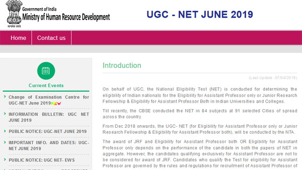 UGC NET 2019 response sheet released, check exam date