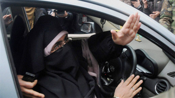 File photo of Asiya Andrabi