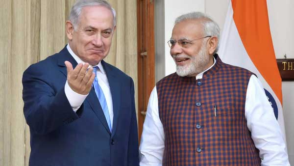 Israeli PM thanks PM Modi for Indias vote against Palestinian group