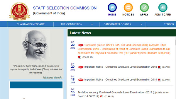 SSC JE Recruitment notification 2019: Important instructions, exam details, dates