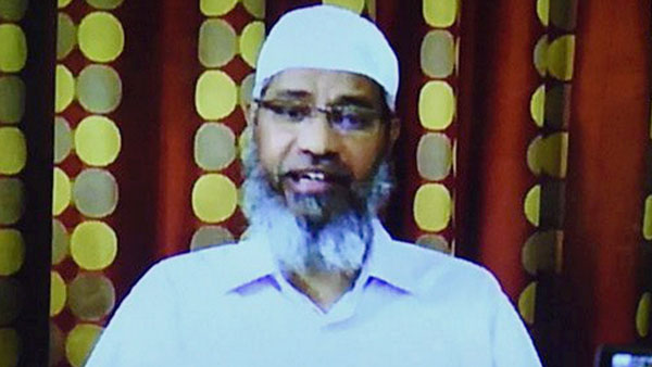 File photo of Zakir Naik