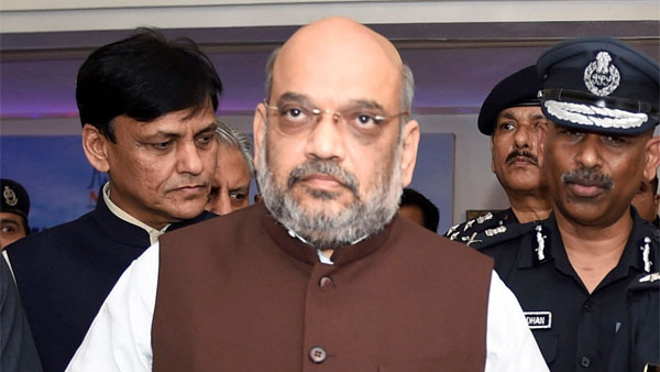 Amit Shah hosts dinner in honour of retired chiefs of IB, R&AW