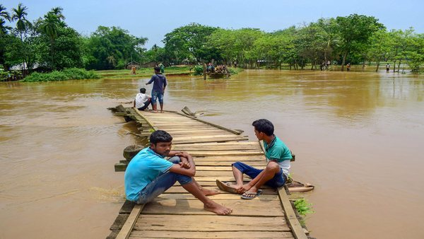 Many villages flooded