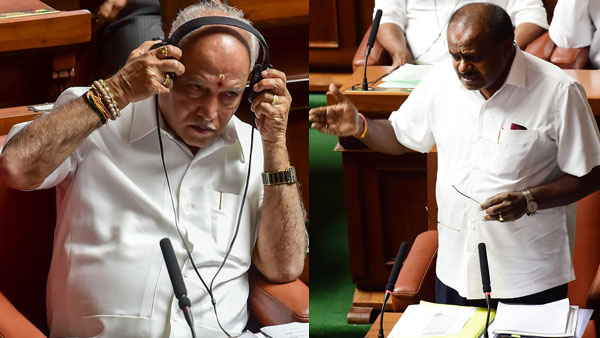 Karnataka Trust Vote Updates: House adjourned despite fresh 'deadlines'