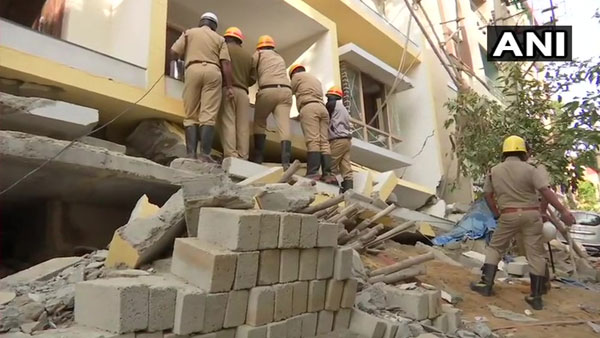 Bengaluru: 1 dead, 8 rescued as under-construction building collapses