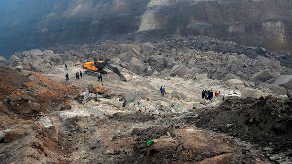 Odisha: 1 dead, several feared trapped after landslide at coal mine