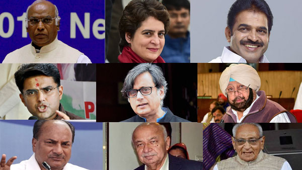Who will be the next Congress chief: List of the probables