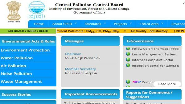 Pollution Control Board jobs: CPCB jobs openings for Research Associate/ Consultant posts announced