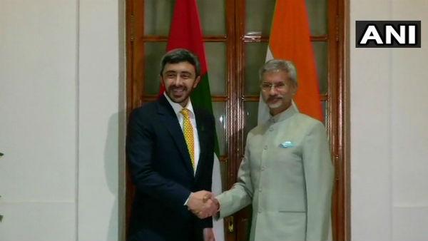 Jaishankar, UAE FM hold talks to boost counter-terror efforts