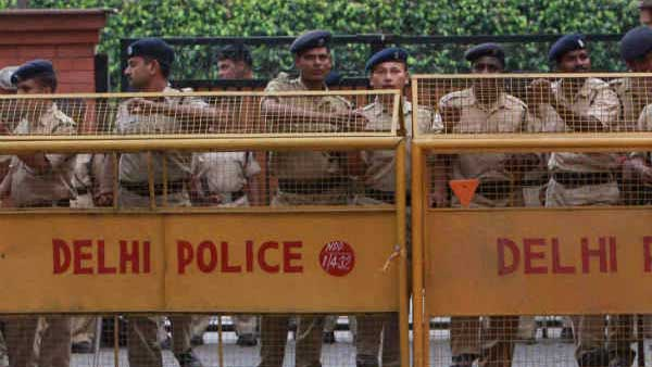 Tension prevails in after temple vandalised in central Delhi
