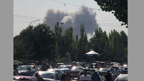 Heavy explosion reported in Kabul