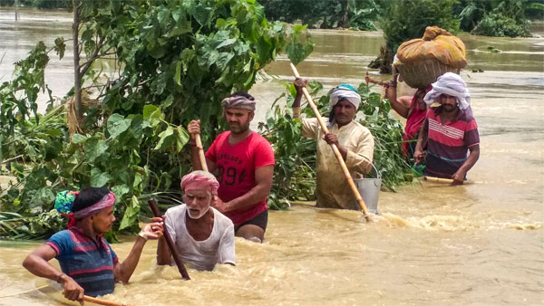 floods, assam, bihar, heavy rains, death toll, imd, floods in assam