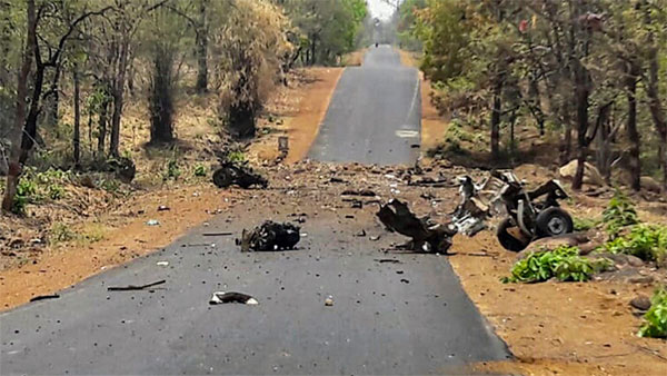 NCP leader held in connection with Gadchiroli naxalite attack