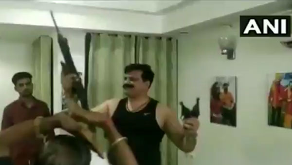 BJP MLA brandishes guns & dances in Gangs of Wasseypur style