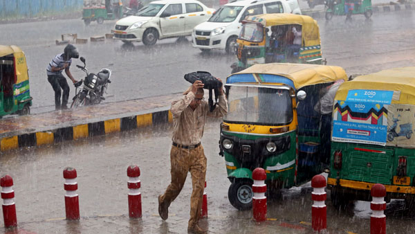 Heavy rains continue to lash parts of Bihar, Assam and Meghalaya