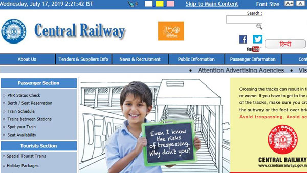 Indian Railway jobs: Central Railways vacancies for 31 Staff Nurse Posts announced; How to apply