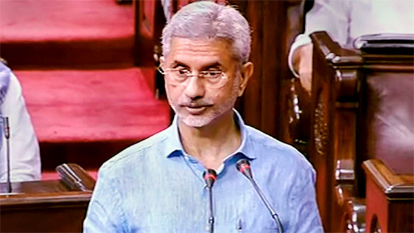 Jadhav is innocent and no forced confession will change this fact: Jaishankar in RS