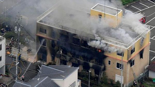 24 dead in suspected arson attack at Japan animation studio