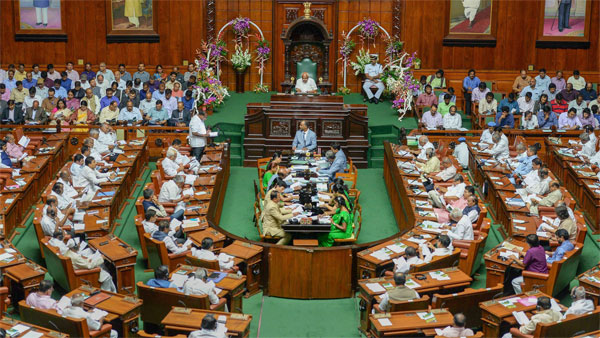 A view of the Karnataka Assembly