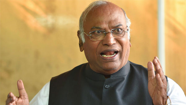 File photo of Mallikarjun Kharge