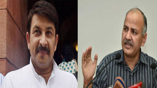 Manish Tiwari and Manish Sisodia