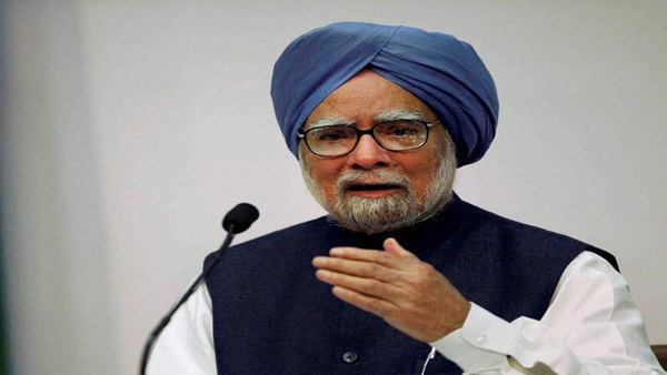 Former PM Manmohan Singh takes oath as RS member from Rajasthan