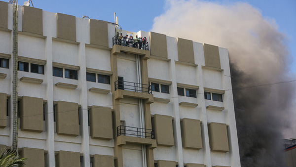 Mumbai: Fire breaks out at MTNL building in Bandra; 84 rescued so far