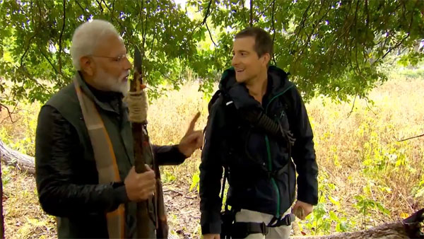 Man Vs Wild with Modi: Congress trade charges on PM for filming during Pulwama attack