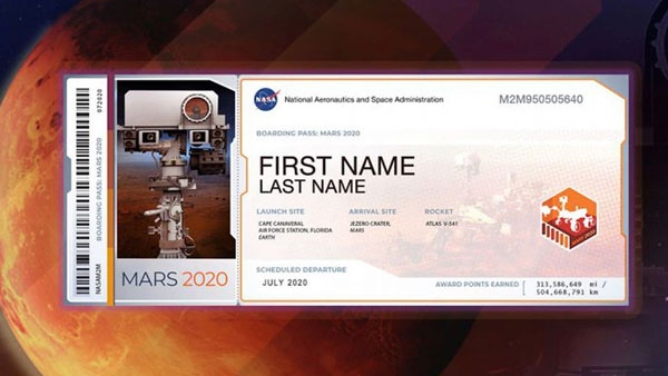 <strong>Now, NASA gives you an opportunity to send your name to Mars</strong>