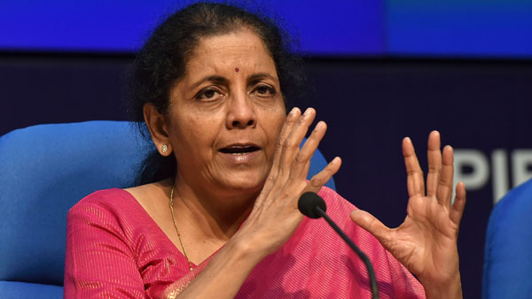 FM Nirmala Sitharaman to address RBI board on Monday