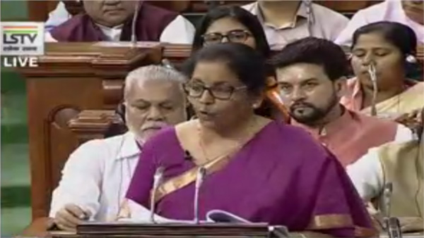[India to be -trillion economy this year itself: Nirmala Sitharaman]