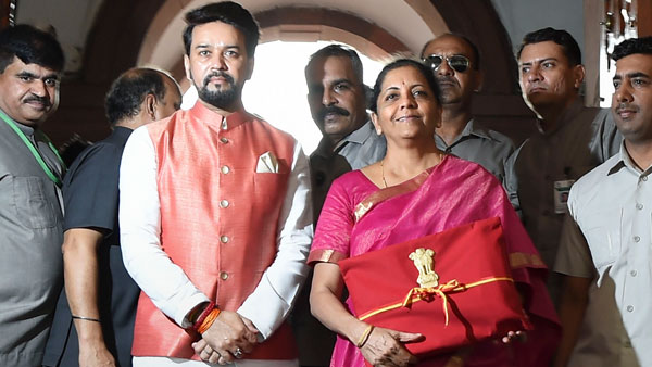 Nirmala Sitharaman only 2nd woman to present Union Budget in history of India