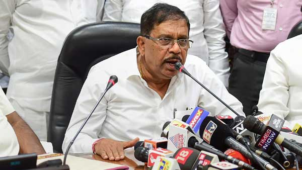 Not just me, all Congress ministers will resign, if need be: Dr Parameshwar