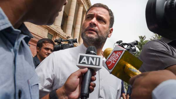 Weak foreign ministry denial wont do, PM must answer: Rahul Gandhi on Kashmir mediation row
