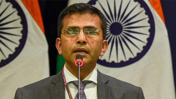 Pak has compulsions to lie to their own people: MEA on Jadhav verdict