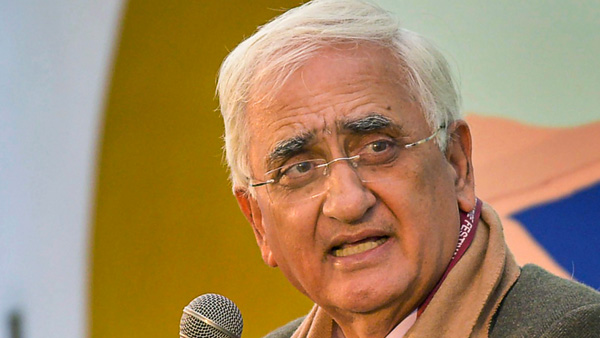 Senior Congress leader Salman Khurshid