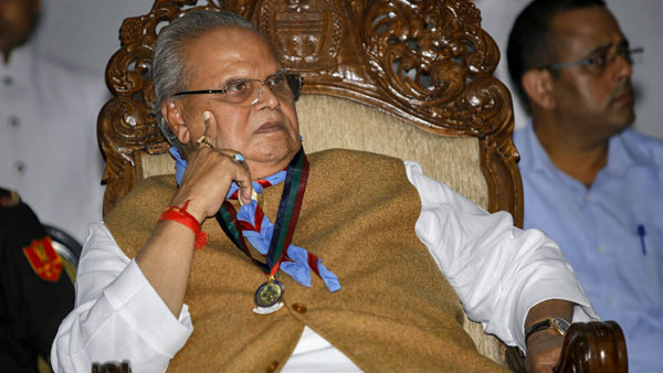 """Said in """"fit of anger and frustration"""", says J&K Guv as he does U-turn on 'kill the corrupt' remark'"""