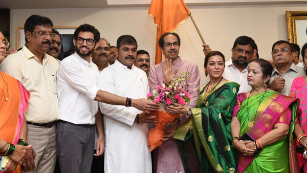 NCPs Sachin Ahir joins Shiv Sena ahead of assembly polls