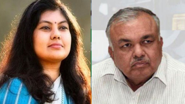 File photo of Soumya Reddy and Ramalinga Reddy