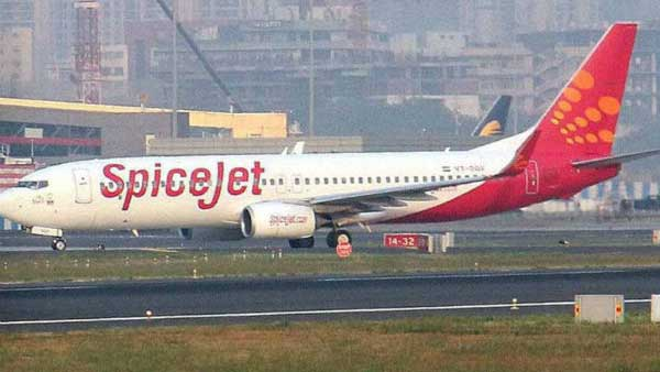 Spice jet plane veers-off wet runway in Pune