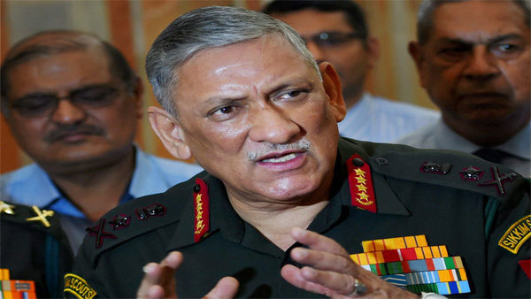 Army chief Bipin Rawat to visit Srinagar today, first since abrogation of Article 370