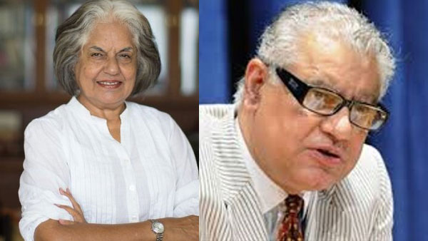 Indira Jaising and Anand Grover