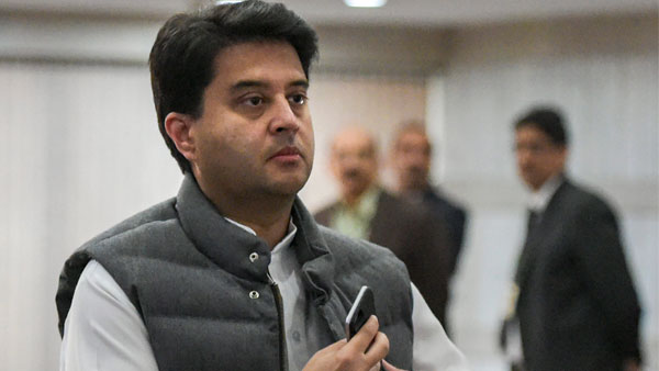 File photo of Jyotiraditya Scindia