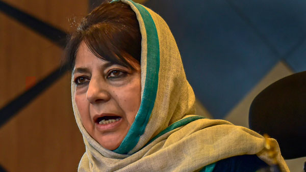 China has hijacked aggressive 'ghar main ghuske marengay' militaristic approach: Mehbooba Mufti