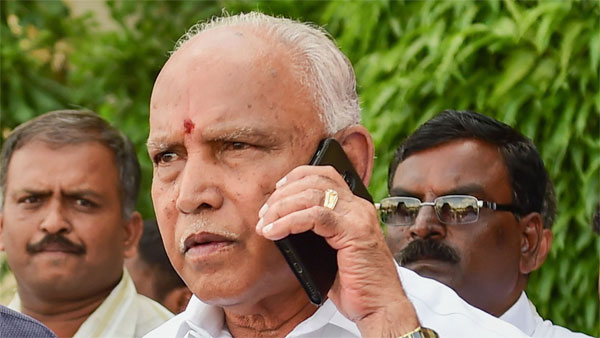 Yediyurappa says CBI to probe into alleged phone tapping scandal