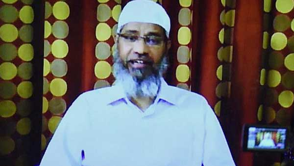 Islamic Research Foundation founder Dr Zakir Naik