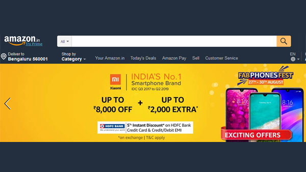 Amazon phone offers: Buy phones at exciting prices