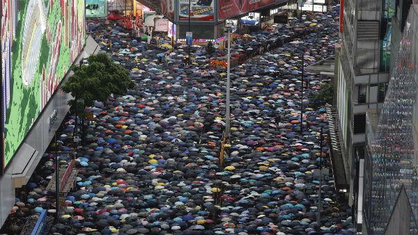[Google says YouTube campaign targeted Hong Kong protests]