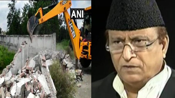 [SP MP Azam Khan's 'Humsafar' demolished over allegation of illegal construction]